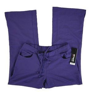 Grey's Anatomy XS Purple Scrub Pants